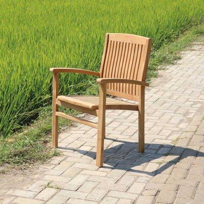 Teakholz Stühle