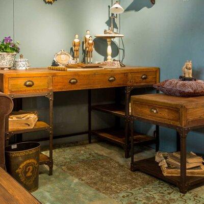 Schreibtische aus Massivholz online kaufen...