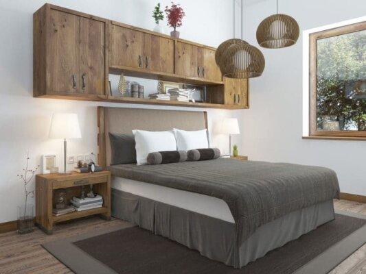 Schlafzimmer im Landhausstil einrichten - Schlafzimmer im Landhausstil einrichten (Anleitung)