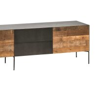 Midal TV Board mit 2 Türen 2 Schubladen und Klappe