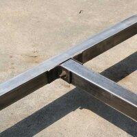 Esstisch Marango rechteckig mit Metallgestell