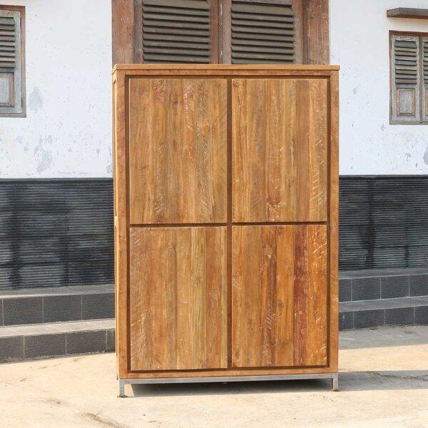 teak kleiderschrank marango i. Black Bedroom Furniture Sets. Home Design Ideas
