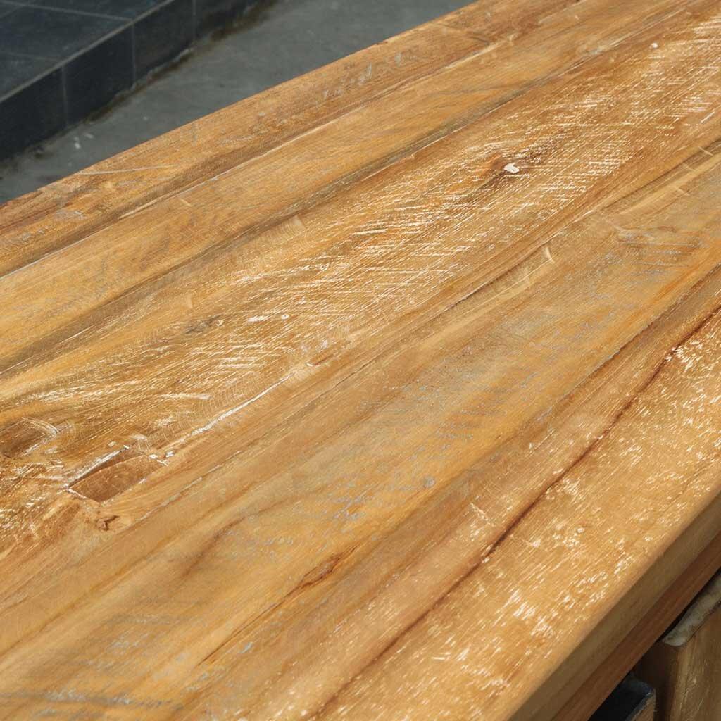 teak sideboard marango 240 cm. Black Bedroom Furniture Sets. Home Design Ideas