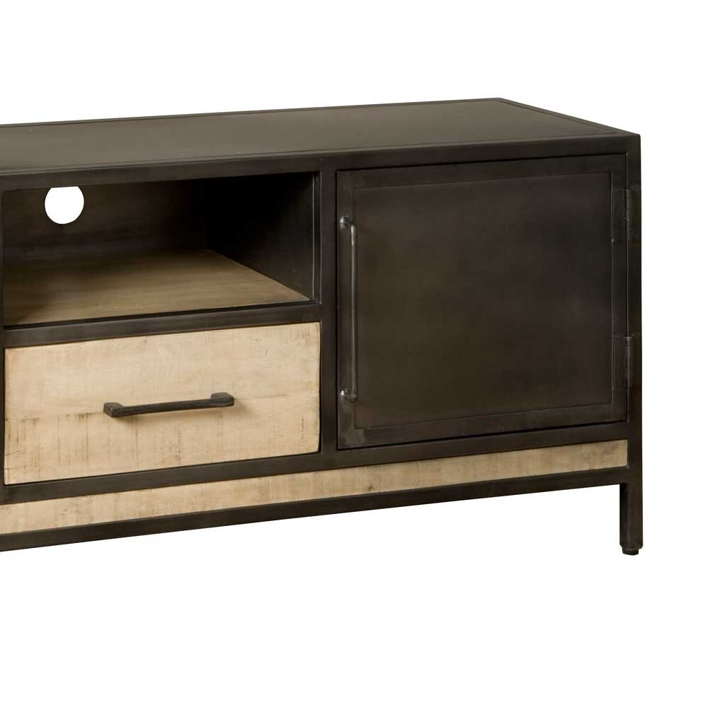tv lowboard magosta mit 2 t ren und schublade. Black Bedroom Furniture Sets. Home Design Ideas