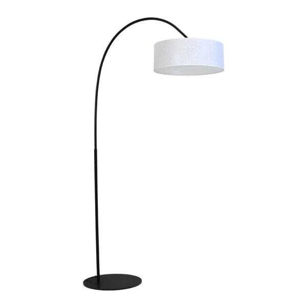 Stehlampe Archimedes Schirm weiß