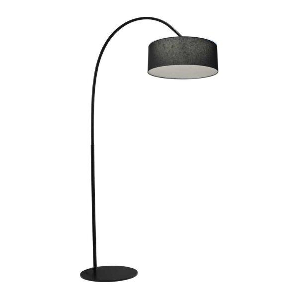 Stehlampe Archimedes Schirm schwarz