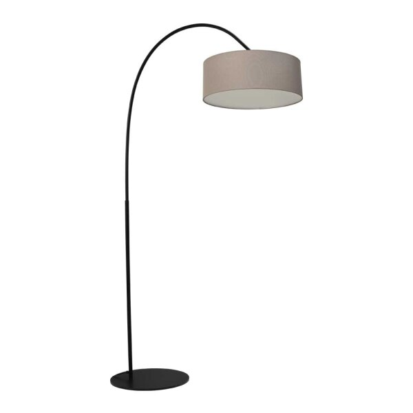 Stehlampe Archimedes Schirm taupe