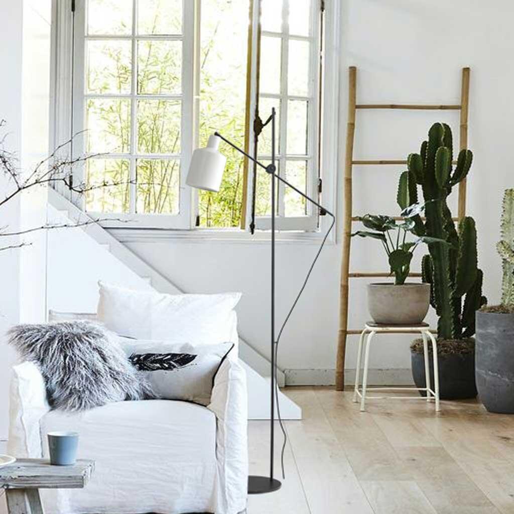 boris stehlampe schirm wei. Black Bedroom Furniture Sets. Home Design Ideas