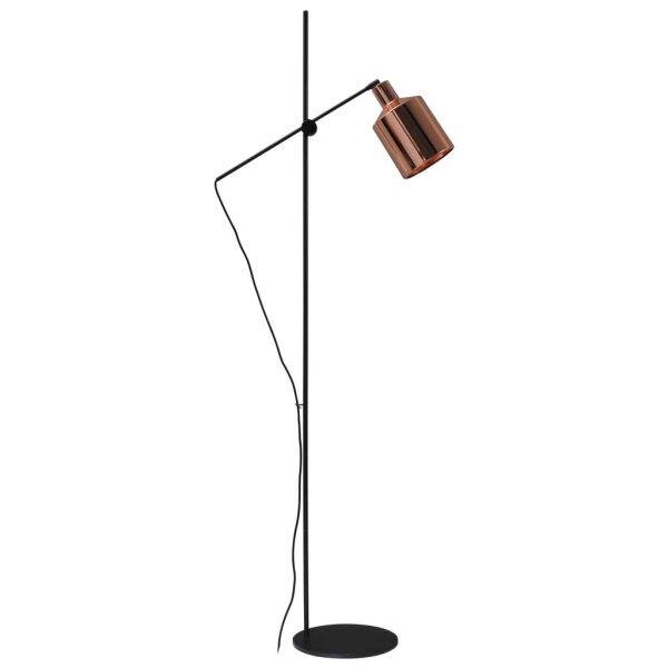 boris stehlampe schirm kupfer gl nzend. Black Bedroom Furniture Sets. Home Design Ideas