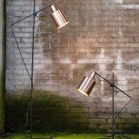 Boris Stehlampe Schirm Kupfer glänzend