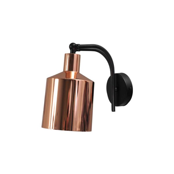 Boris Wandlampe Kupfer glänzend