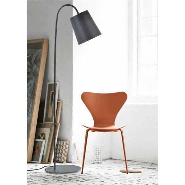 bucket stehlampe schirm schwarz. Black Bedroom Furniture Sets. Home Design Ideas