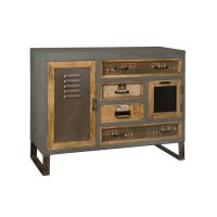 Sideboard Shabbygrau Altholz