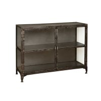 Sideboard Regal Indira Schwarz Antik