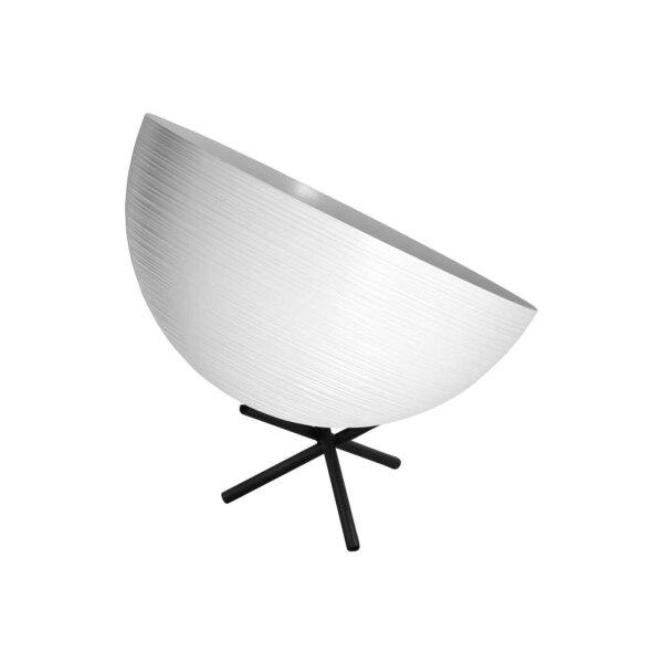 Tisch Metalllampe Casco 30 cm Durchmesser Weiss