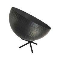 Tisch Metalllampe Casco 35 cm Durchmesser Schwarz