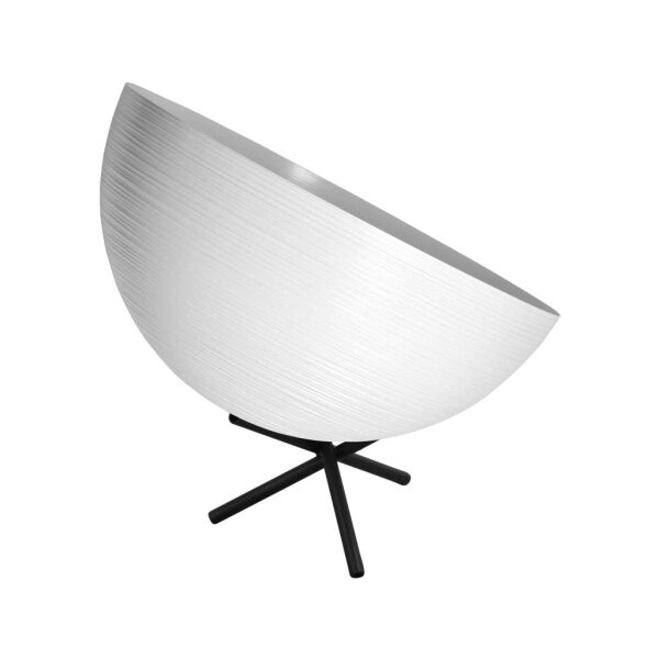 Tisch Metalllampe Casco 35 cm Durchmesser Weiss