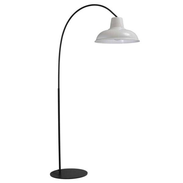Bogenlampe Eddy weiss