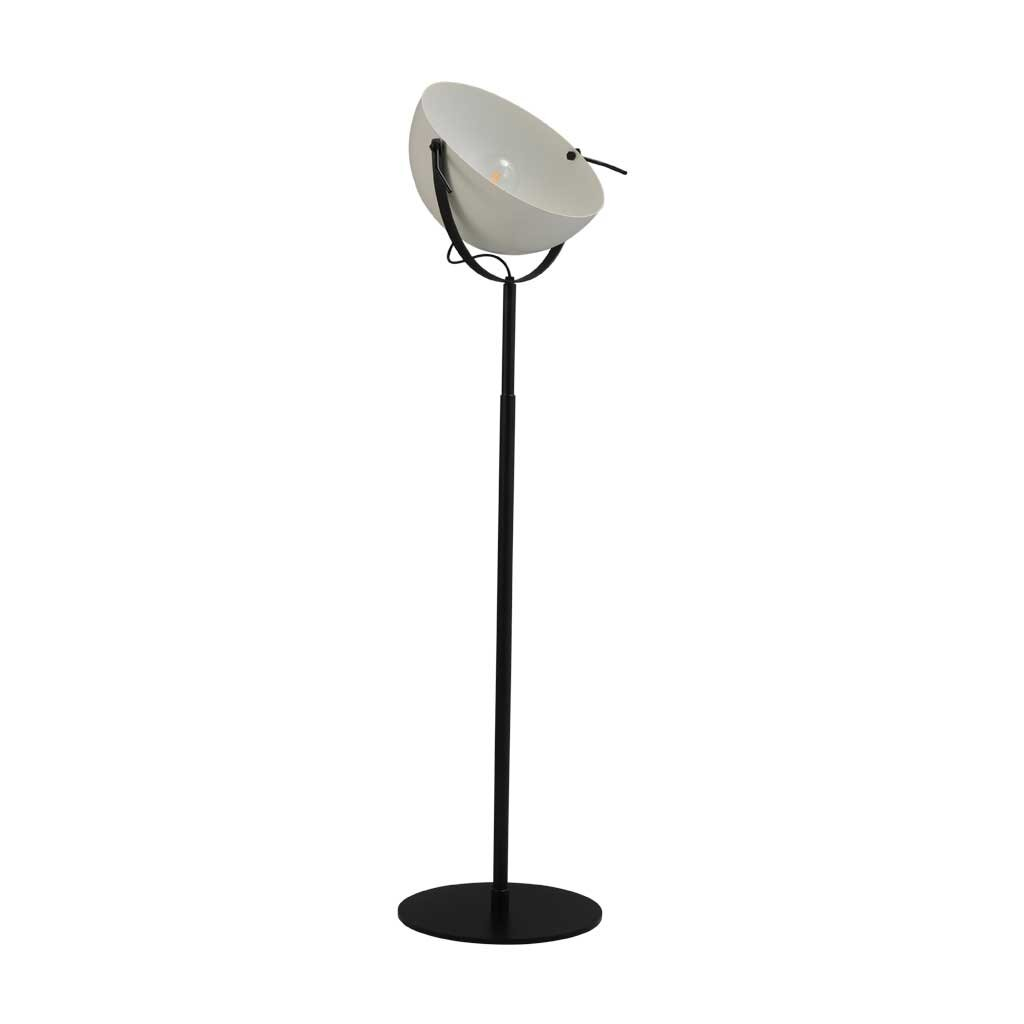 larino stehlampe schirm weiss. Black Bedroom Furniture Sets. Home Design Ideas