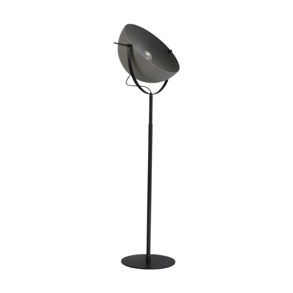 Larino Stehlampe XL Schirm Betonlook