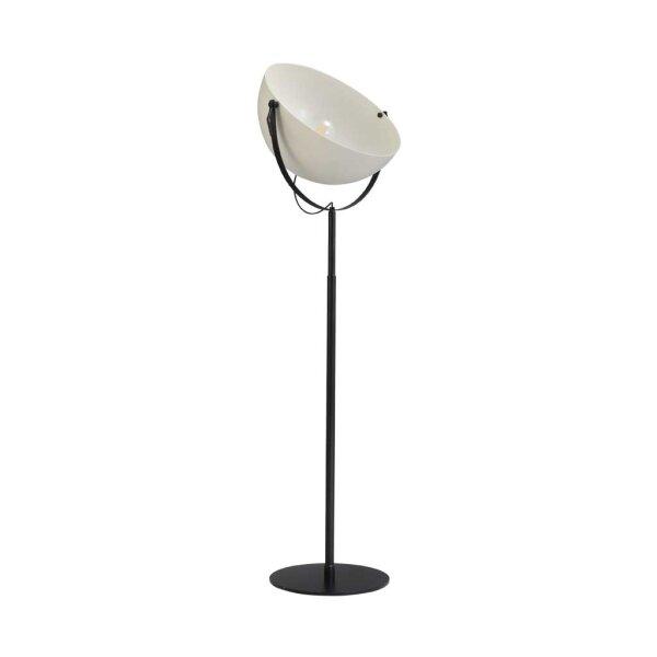 Larino Stehlampe XL Schirm weiss