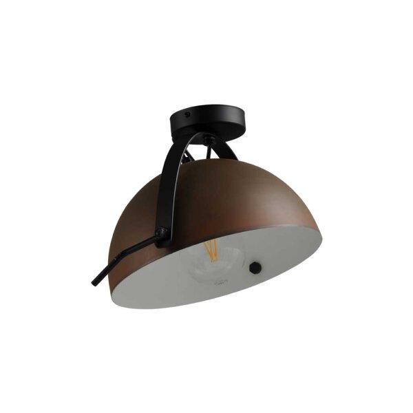 Larino Deckenlampe Schirm rost innen weiss