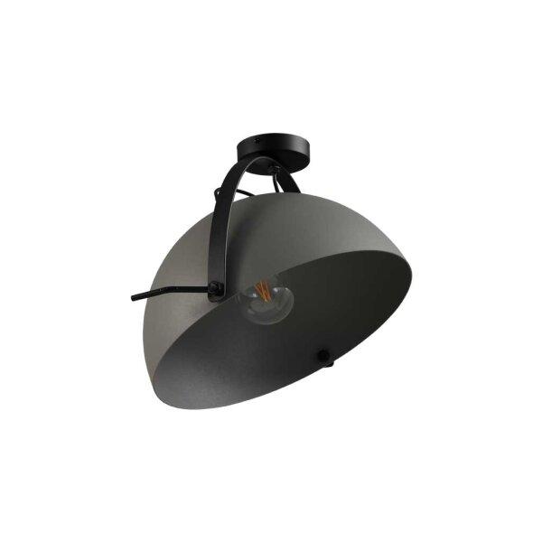 Larino Deckenlampe XL Schirm Betonlook