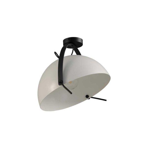 Larino Deckenlampe XL Schirm weiss