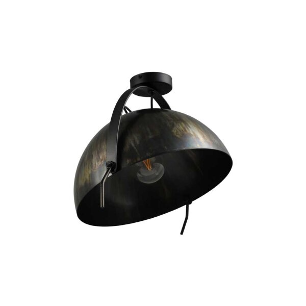 Larino Deckenlampe XL Schirm dappled oil