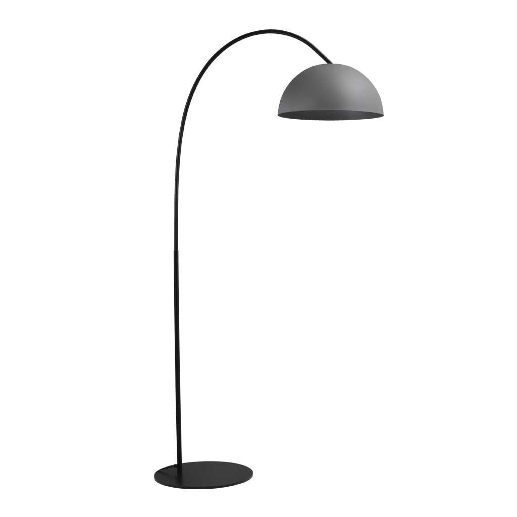 larino stehlampe schirm betonlook. Black Bedroom Furniture Sets. Home Design Ideas