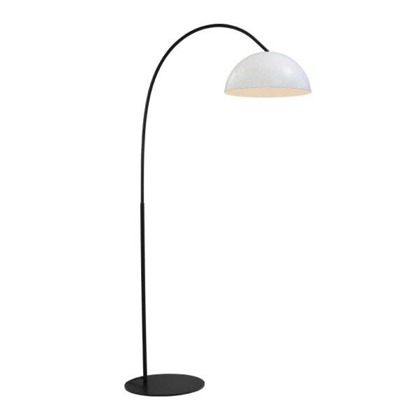 Larino Stehlampe Schirm weiss