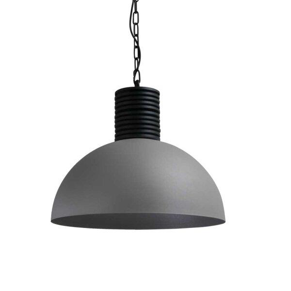 Larino Runde Pendelleuchte-R  Schirm 50 cm  Betonlook