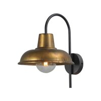 Wandlampe Eddy Antik Messing