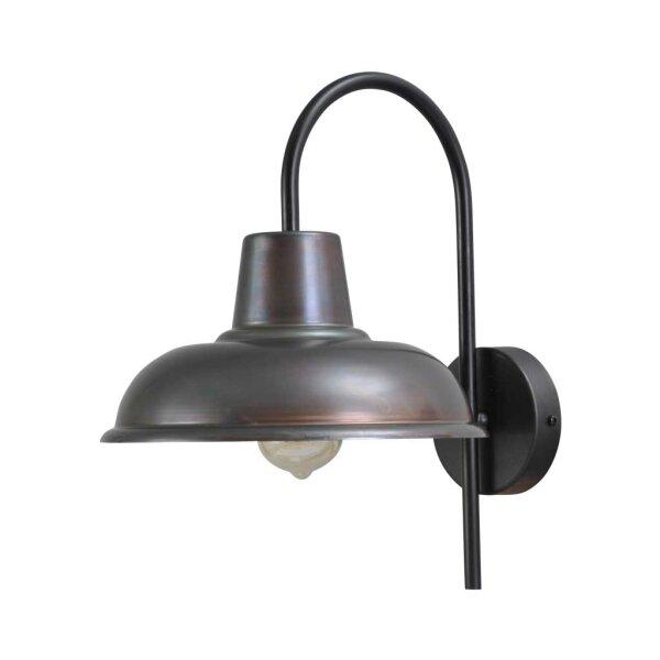 Wandlampe Eddy gunmetal