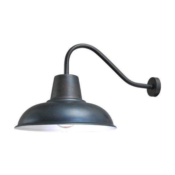 Wandlampe Eddy in gunmetal
