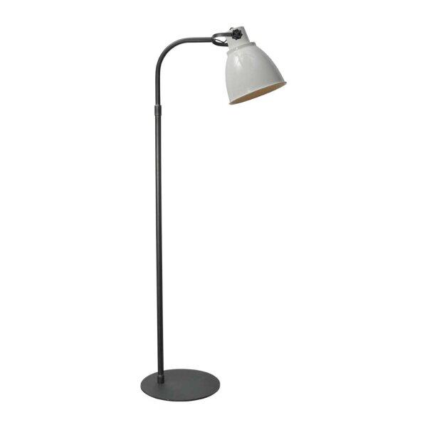 Stehlampe Beasly in weiss, Höhe 176 cm