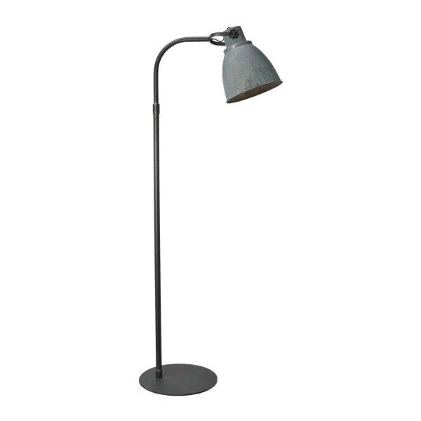 Stehlampe Beasly in Zink, Höhe 176 cm
