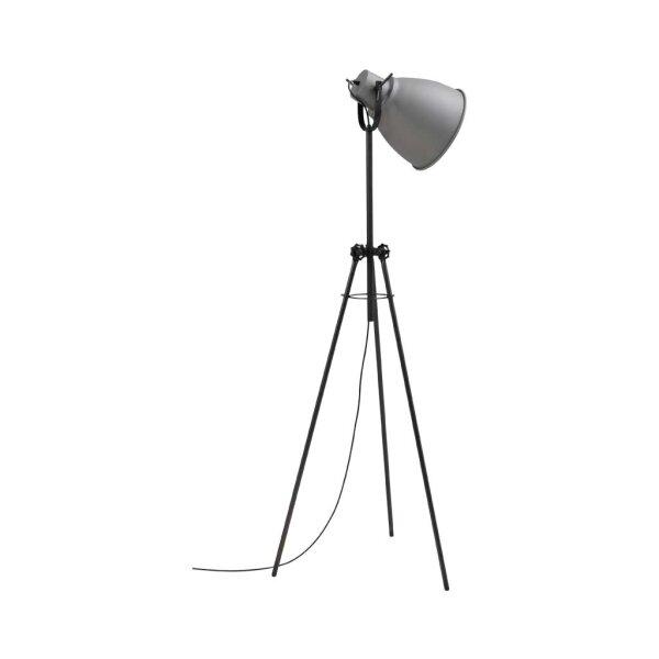 Stehlampe Beasly in Betonlook, Höhe 167 cm