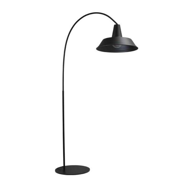 Derby Stehlampe in schwarz