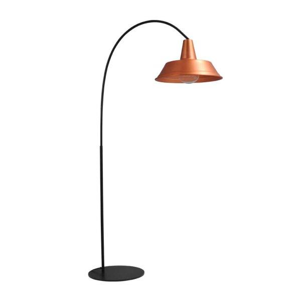 Derby Stehlampe in Kupfer