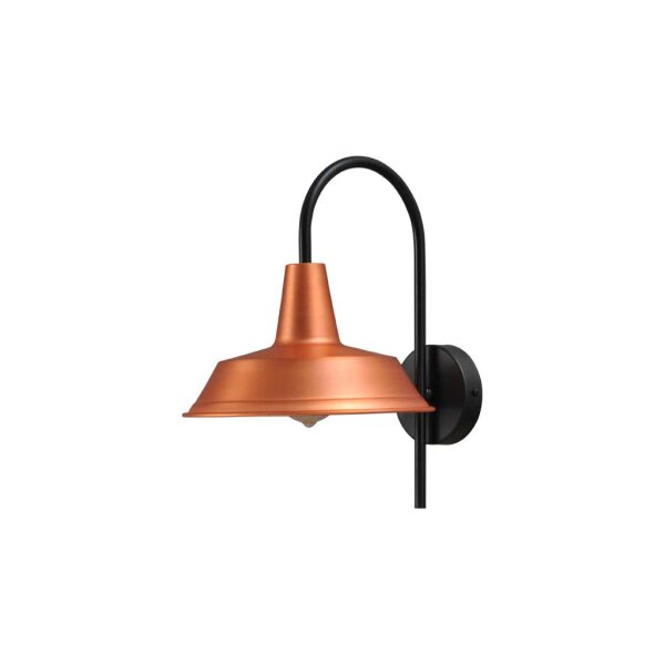 Derby Wandlampe in Kupfer