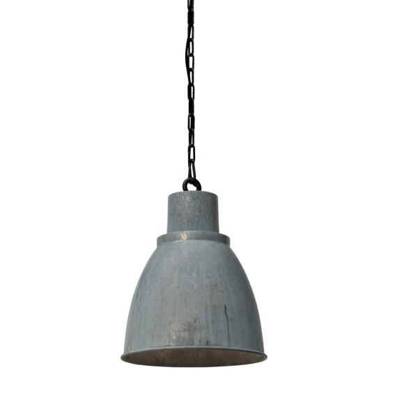 Bristol Hängelampe, Zink, Schirmhöhe ca. 30 cm