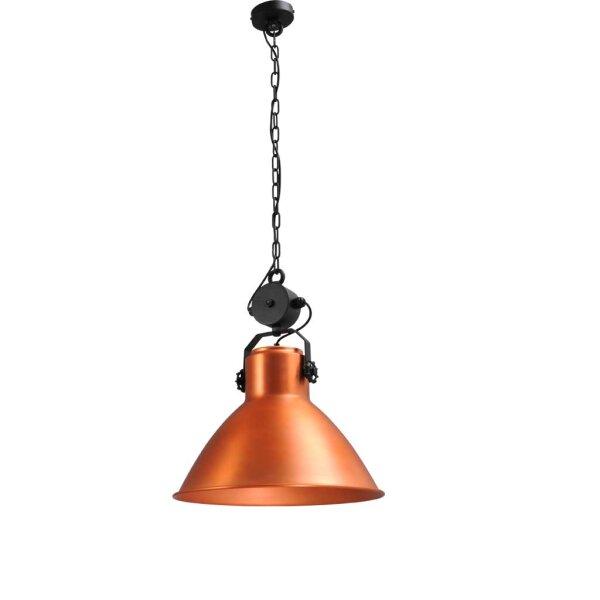 Bradford Hängelampe, Kupfer, Schirmhöhe ca 46 cm