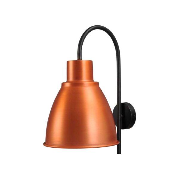 Poole Wandlampe in Kupfer