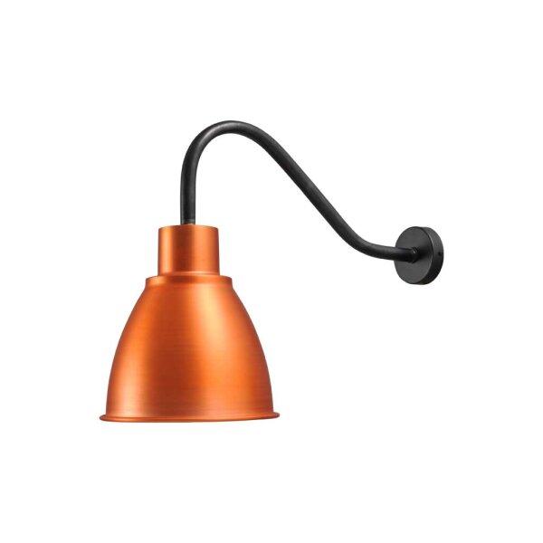 Corby Wandlampe in Kupfer