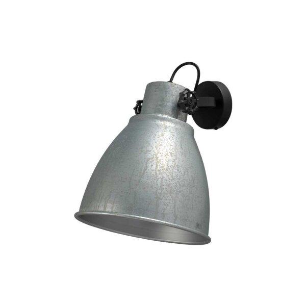 Bury Wand-& Deckenlampe in Zink