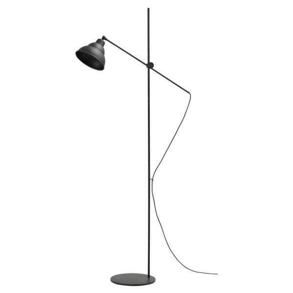 Lincoln Stehlampe, schwarz