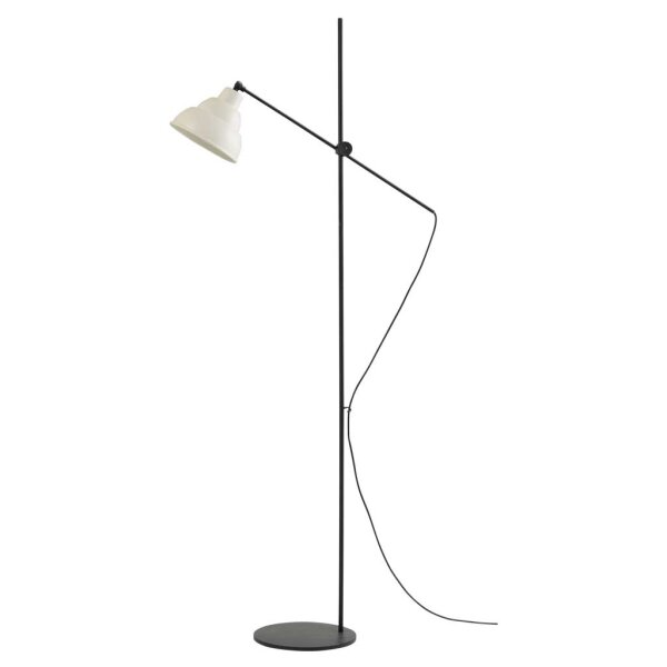 Lincoln Stehlampe, weiss