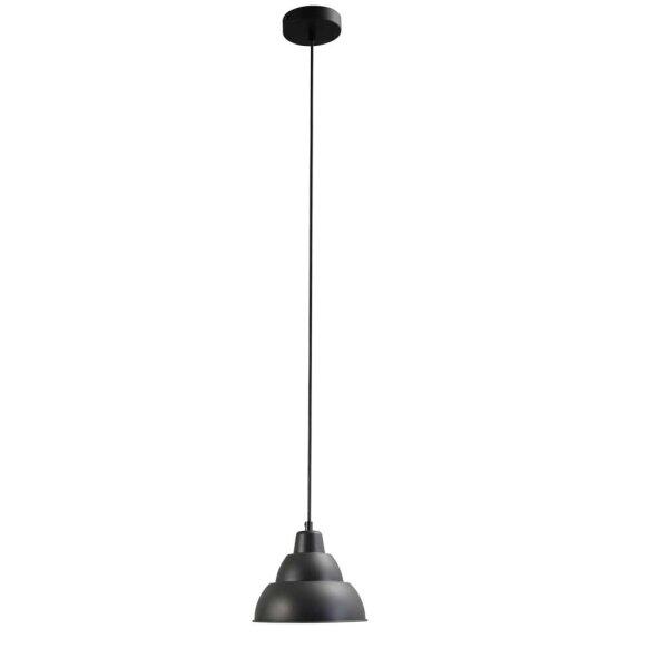Lincoln Hängelampe, schwarz 19 cm