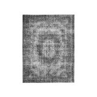 Teppich dunkelgrau Stoff 230cm